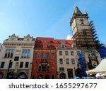 Crowded Tourists Visit Prague...