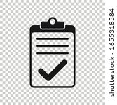to do list icon in flat style....