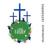 Happy Easter Day Greeting Card...