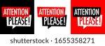 attention please on speech... | Shutterstock .eps vector #1655358271