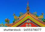 Traditional Chinese Temple Roof ...