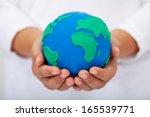 Our Home   Child Holding Earth...