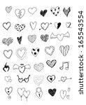 Hearts Doodles