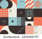 retro future inspired artwork...   Shutterstock .eps vector #1655436757