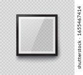 frame mockup template isolated... | Shutterstock .eps vector #1655467414
