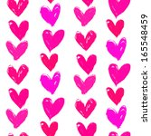 grunge vector seamless pattern...   Shutterstock .eps vector #165548459