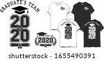 2020 class. graduation design...   Shutterstock .eps vector #1655490391