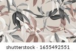 foliage seamless pattern ... | Shutterstock .eps vector #1655492551