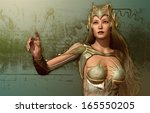 3d computer graphics of a young ... | Shutterstock . vector #165550205