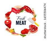 meat vector food of beef  pork  ...
