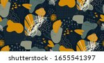 vector colorful collage... | Shutterstock .eps vector #1655541397