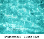 vector water sea. | Shutterstock .eps vector #165554525