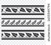 floral seamless vector design... | Shutterstock .eps vector #1655549794