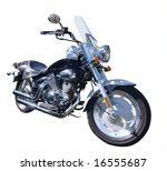 motorbike isolated with... | Shutterstock . vector #16555687