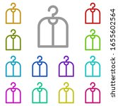 cover multi color icon. simple...