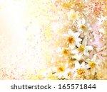 Little Spring White Flowers...