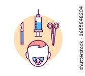 pediatric surgery color line...
