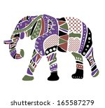 cheerful elephant from...