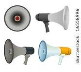bullhorn vector | Shutterstock .eps vector #16558996