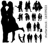 Couple People Vector