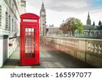 Big Ben And Red Telephone Box...