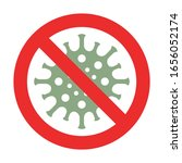 vector coronavirus illustration ...   Shutterstock .eps vector #1656052174