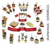 disegno Food banquette : Finger Food Clip Art, Vector Finger Food - 660 Graphics - Clipart.me
