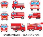 Fire Truck Vector Set...