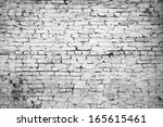 Dirty Brick Wall  Grungy Grey...