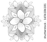 coloring page for fun and... | Shutterstock .eps vector #1656186181