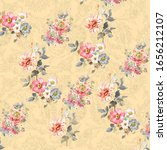 Digital Print Flower Pattern...