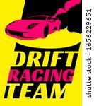 car club logotype. drifting ...   Shutterstock .eps vector #1656229651