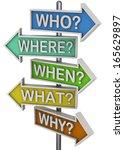question concept   3d | Shutterstock . vector #165629897