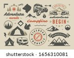 camping and outdoor adventure... | Shutterstock .eps vector #1656310081