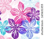 seamless floral spring pattern...