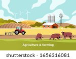 agriculture and farming.... | Shutterstock .eps vector #1656316081