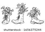 detailed vector hand drawn... | Shutterstock .eps vector #1656375244