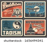 japanese buddhism  shintoism... | Shutterstock .eps vector #1656494341