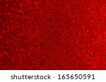 Red Glitter Background