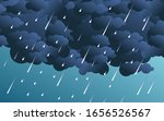 illustration of cloud and rain...   Shutterstock .eps vector #1656526567