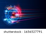download progress bar or round... | Shutterstock .eps vector #1656527791