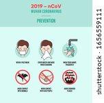 2019 ncov wuhan coronavirus... | Shutterstock .eps vector #1656559111