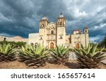 church of santo domingo de... | Shutterstock . vector #165657614