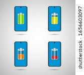 phone charge. graphic template. ... | Shutterstock .eps vector #1656603097