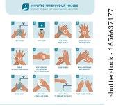 personal hygiene  disease... | Shutterstock .eps vector #1656637177
