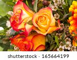 Background Of A Bouquet Of...