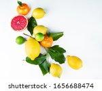 fresh ripe citrus fruits top... | Shutterstock . vector #1656688474