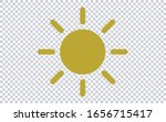 sun icon vector illustration....
