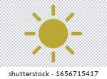 sun icon vector illustration....