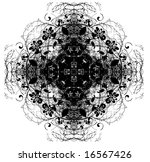 abstract digital background... | Shutterstock . vector #16567426